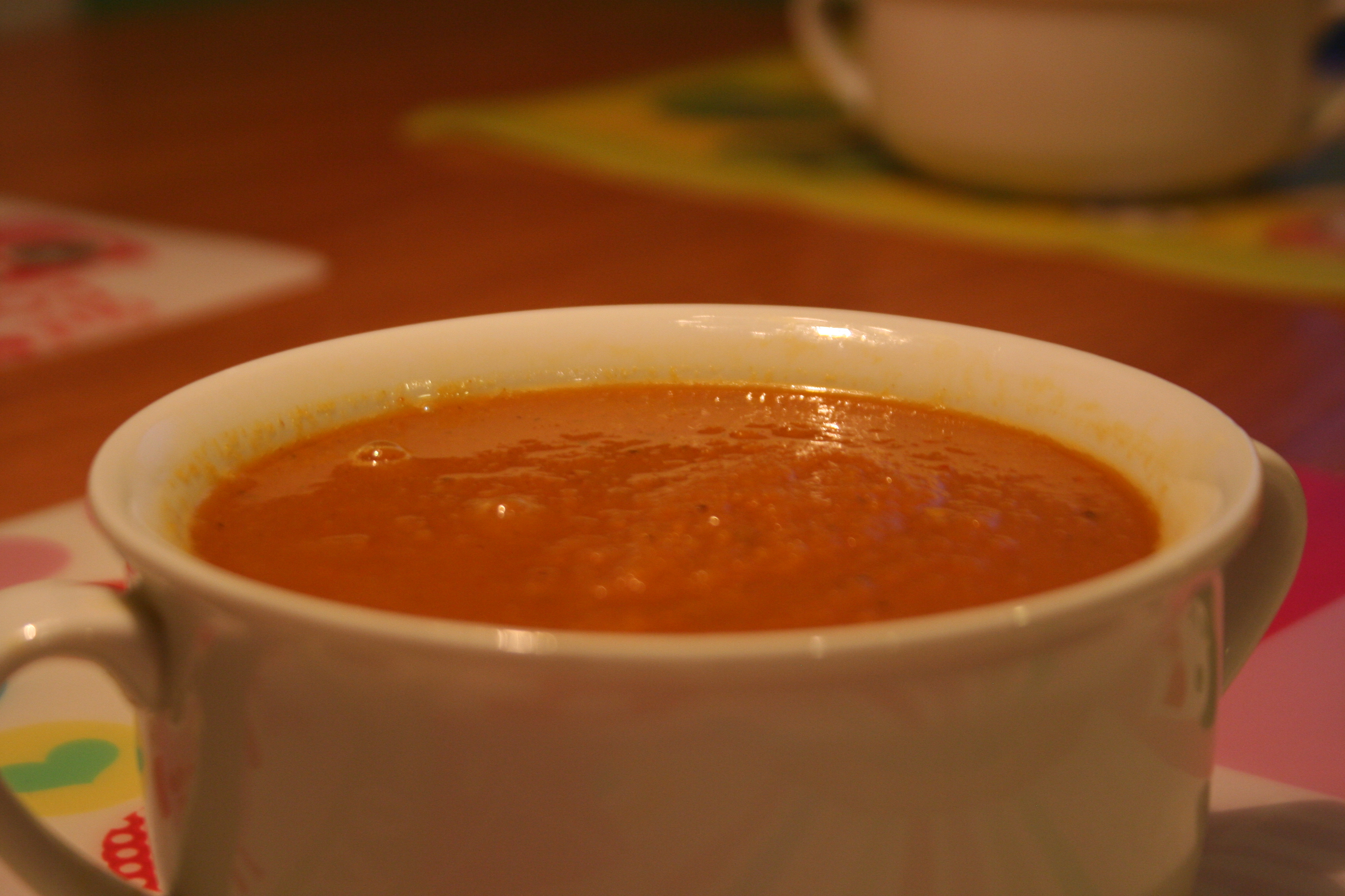 Spiced Carrot Soup Recipe — Dishmaps